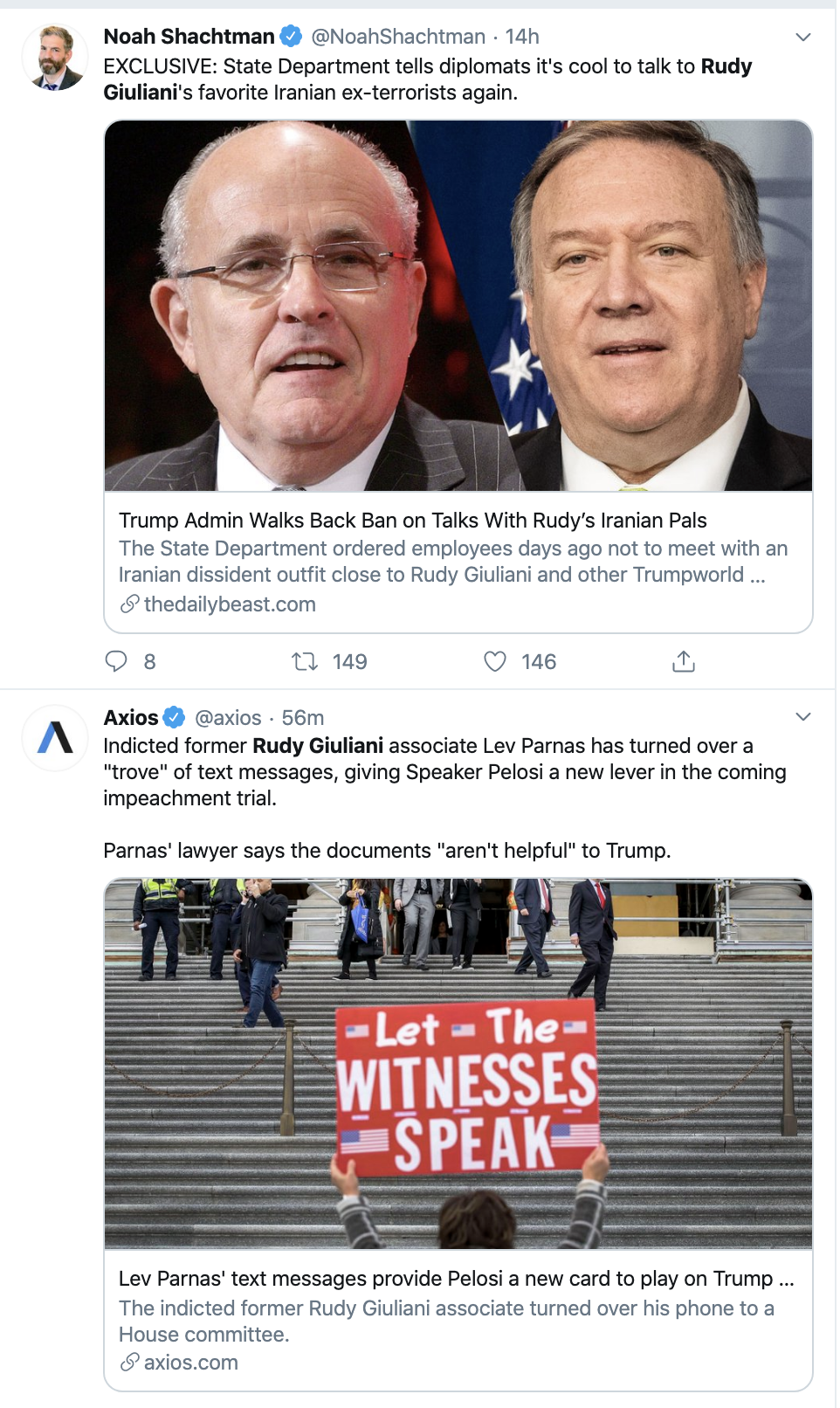 Screen-Shot-2020-01-14-at-8.38.19-AM Giuliani Lobbies To Sit On Trump's Impeachment Trial Team Corruption Election 2020 Featured Impeachment Top Stories