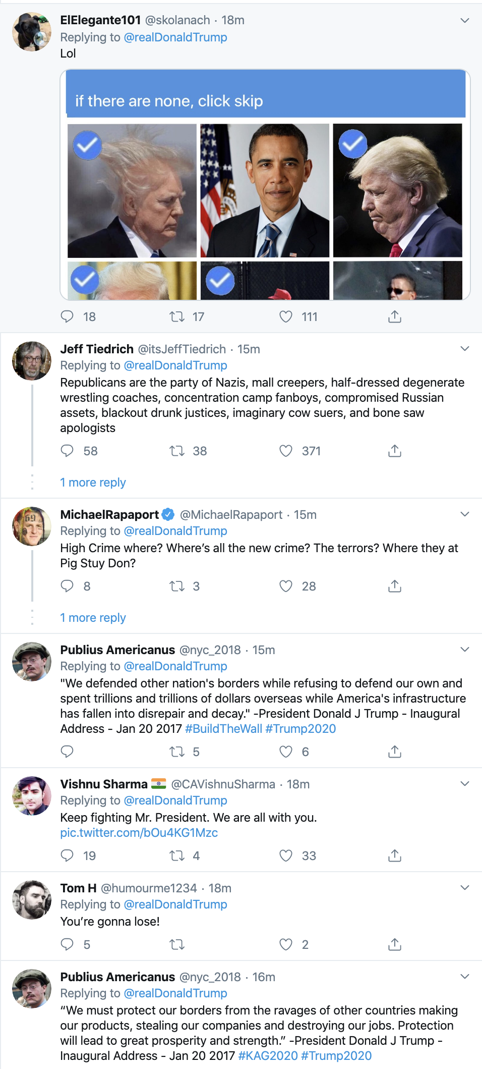 Screen-Shot-2020-01-14-at-9.09.46-PM Trump Goes Off On Twitter Tuesday Night After His Rally Donald Trump Election 2020 Featured Top Stories