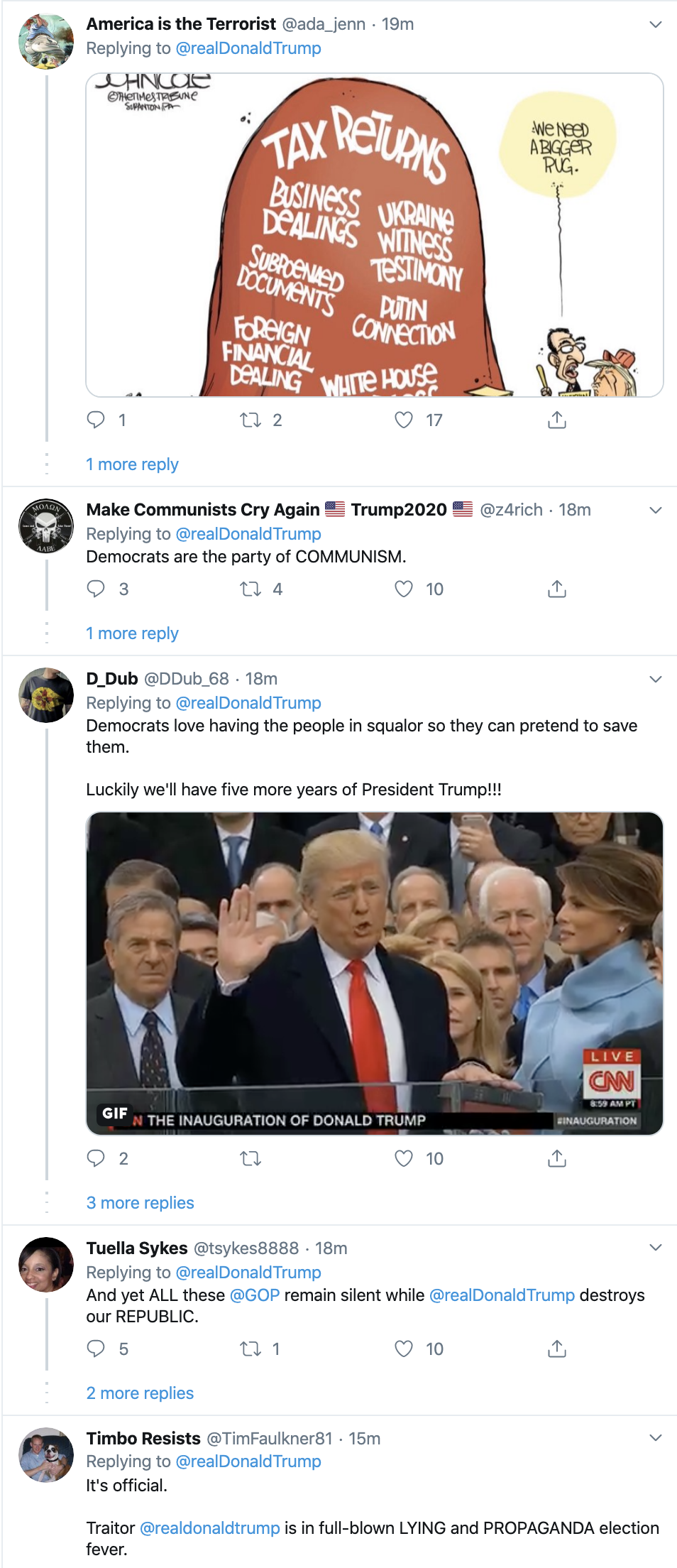 Screen-Shot-2020-01-14-at-9.10.16-PM Trump Goes Off On Twitter Tuesday Night After His Rally Donald Trump Election 2020 Featured Top Stories