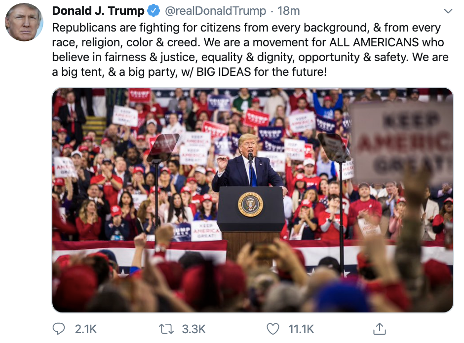Screen-Shot-2020-01-14-at-9.12.36-PM Trump Goes Off On Twitter Tuesday Night After His Rally Donald Trump Election 2020 Featured Top Stories