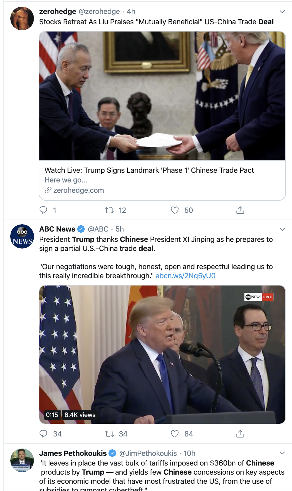 Screen-Shot-2020-01-15-at-4.31.19-PM Pathetic Trump Begs For 'Thank You' From Bank On Twitter Donald Trump Economy Featured Mental Illness Top Stories