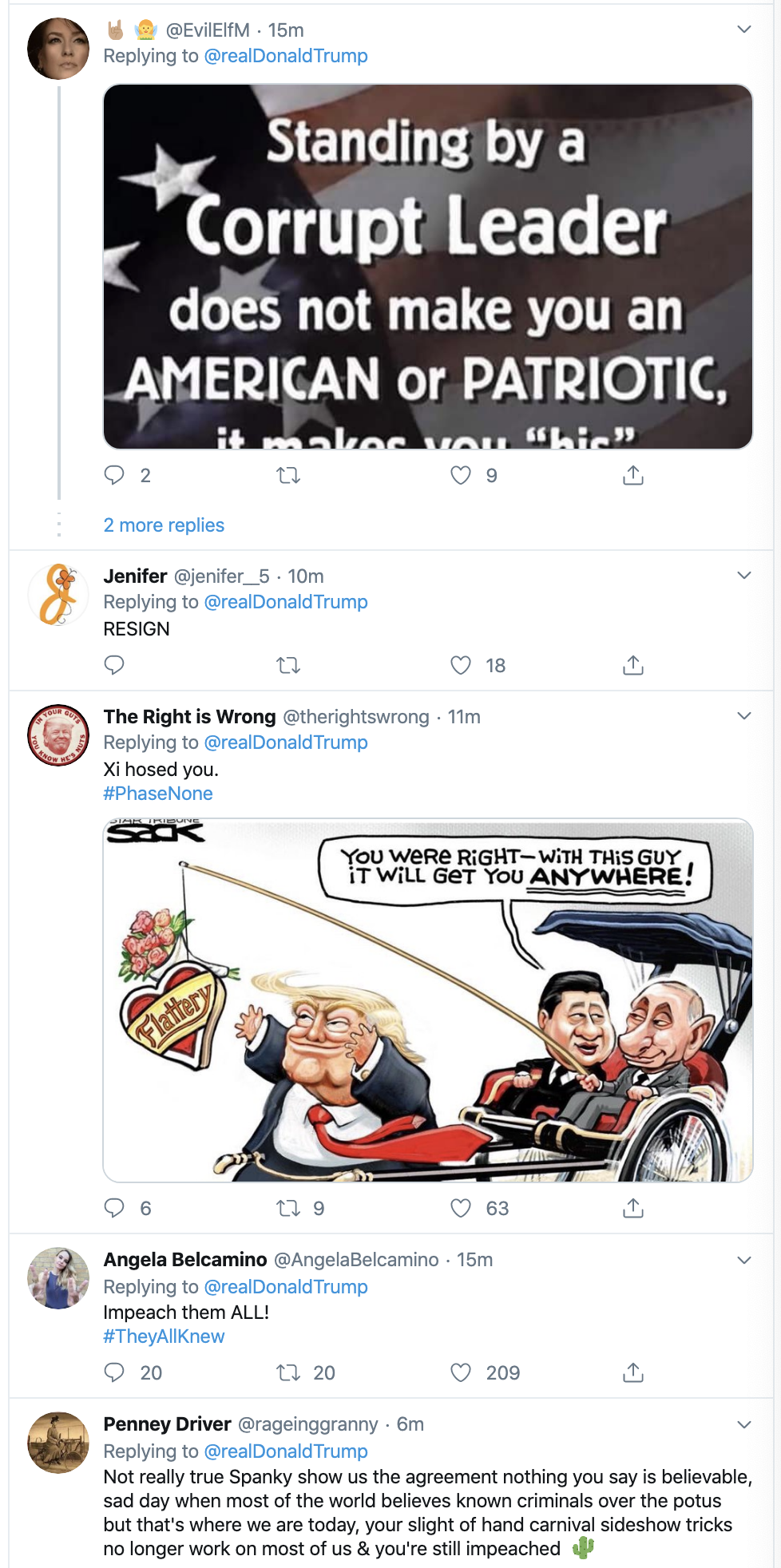 Screen-Shot-2020-01-16-at-7.58.01-AM Trump Unravels Into Thursday Morning Twitter Spasm Domestic Policy Economy Featured Foreign Policy Top Stories
