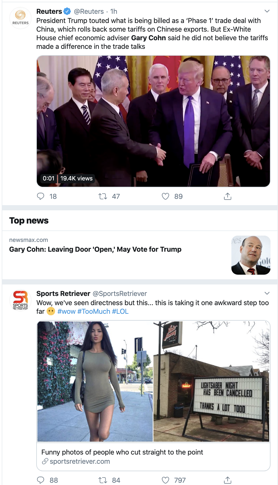 Screen-Shot-2020-01-19-at-3.58.59-PM Former Trump WH Official Shoots Down Trump Claims Domestic Policy Economy Election 2020 Featured Top Stories