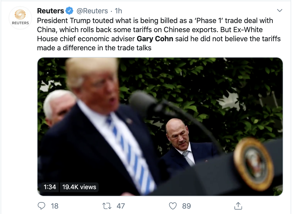 Screen-Shot-2020-01-19-at-3.59.44-PM Former Trump WH Official Shoots Down Trump Claims Domestic Policy Economy Election 2020 Featured Top Stories