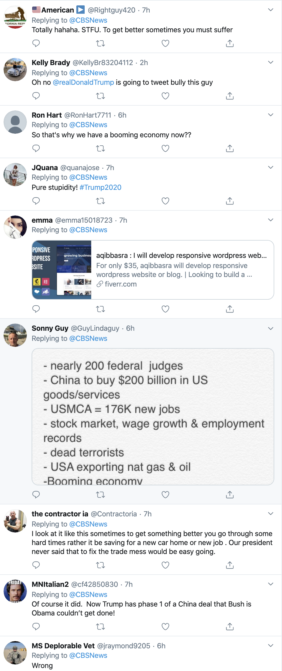 Screen-Shot-2020-01-19-at-4.00.24-PM Former Trump WH Official Shoots Down Trump Claims Domestic Policy Economy Election 2020 Featured Top Stories