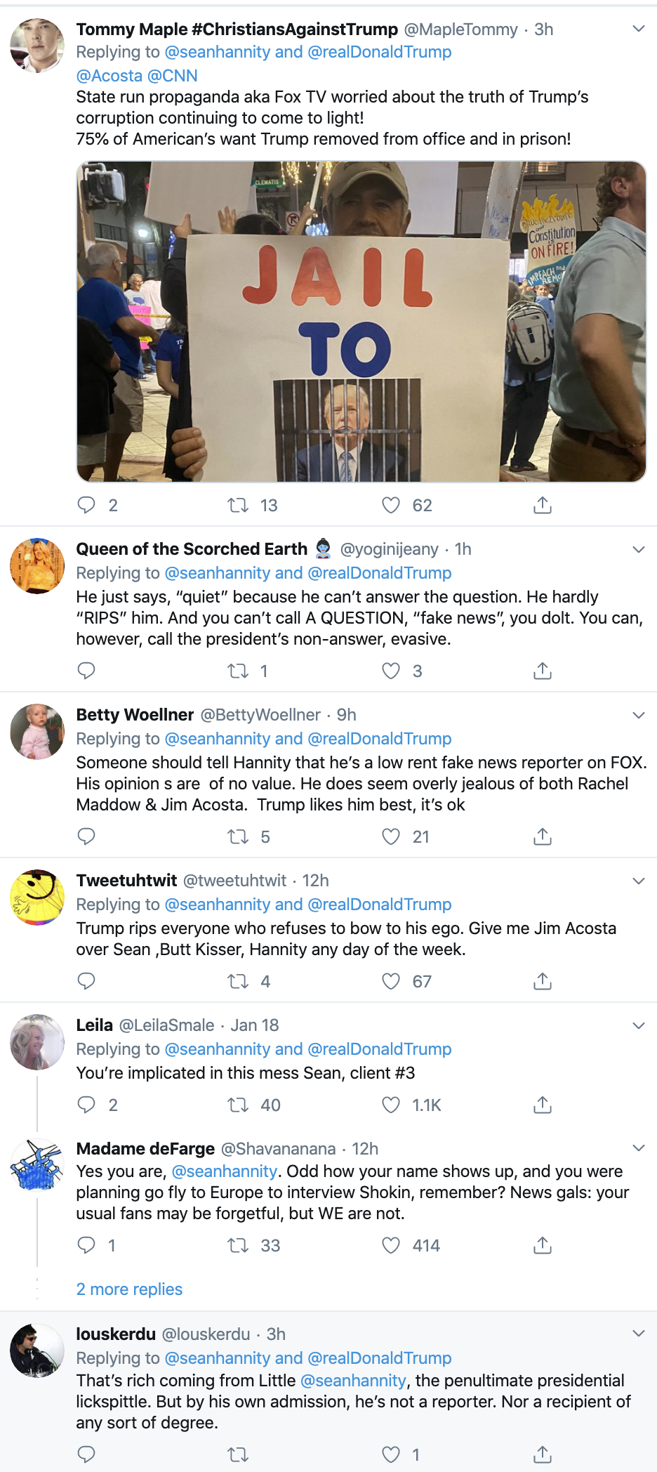 Screen-Shot-2020-01-20-at-9.31.57-AM Acosta Publicly Embarrasses Hannity & Goes Viral Fast Corruption Election 2020 Featured Media Top Stories