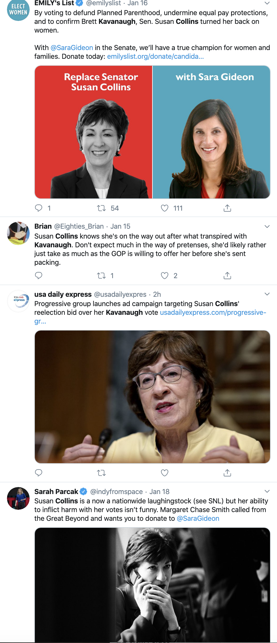 Screen-Shot-2020-01-21-at-11.12.50-AM Susan Collins' Opponent Gets Ringing Endorsement Abortion Featured Feminism Top Stories Women's Rights