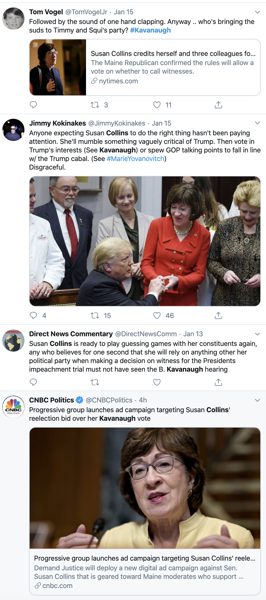 Screen-Shot-2020-01-21-at-11.13.36-AM Susan Collins' Opponent Gets Ringing Endorsement Abortion Featured Feminism Top Stories Women's Rights
