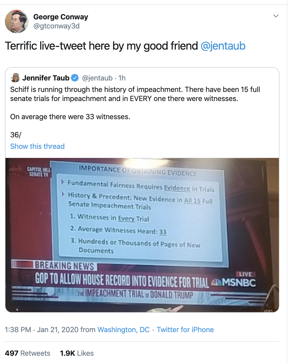Screen-Shot-2020-01-21-at-3.01.37-PM Attorneys Take To The Internet To Mock Trump Legal Team Corruption Crime Featured Impeachment Top Stories