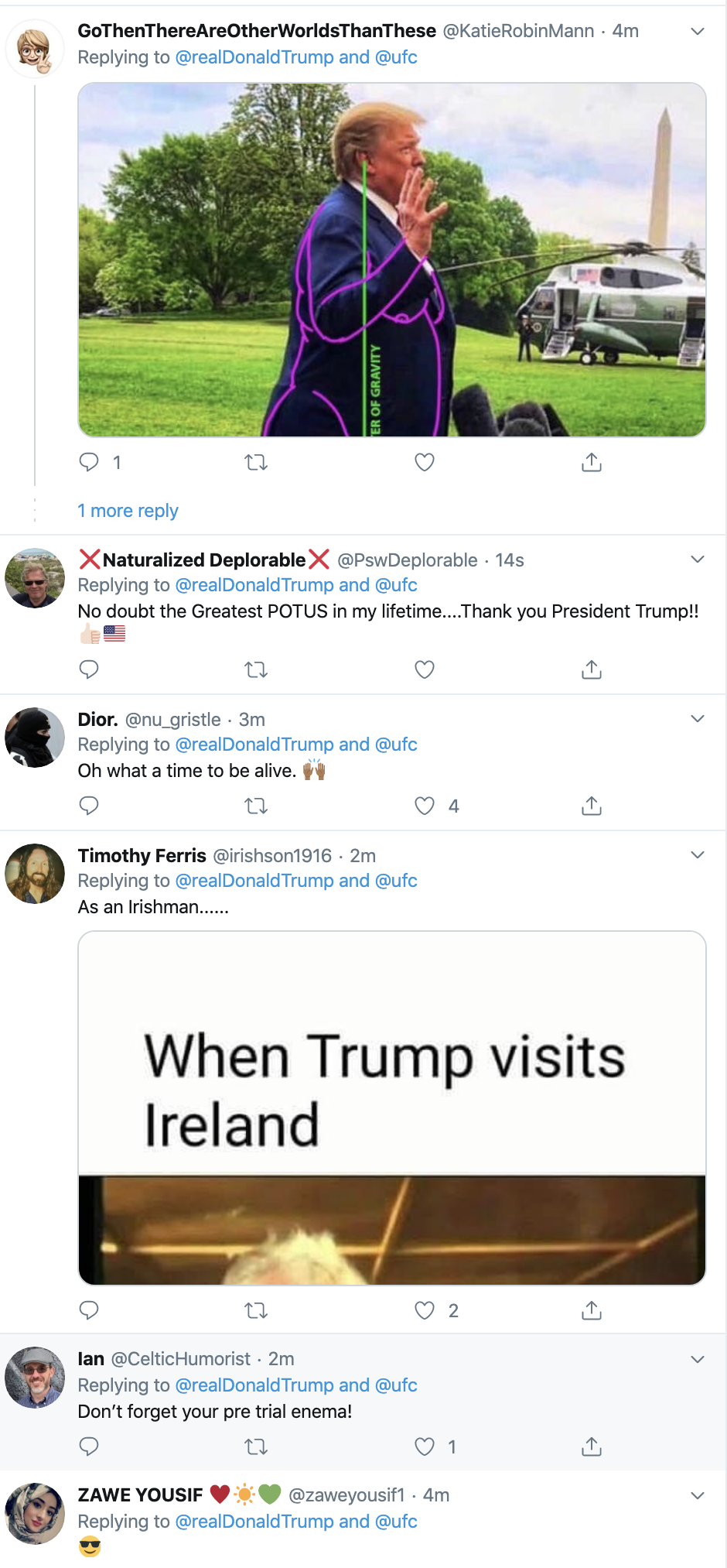 Screen-Shot-2020-01-21-at-7.30.52-AM Trump Tweets Message To Racist UFC Fighter Conor McGregor Celebrities Donald Trump Economy Featured Sports Top Stories