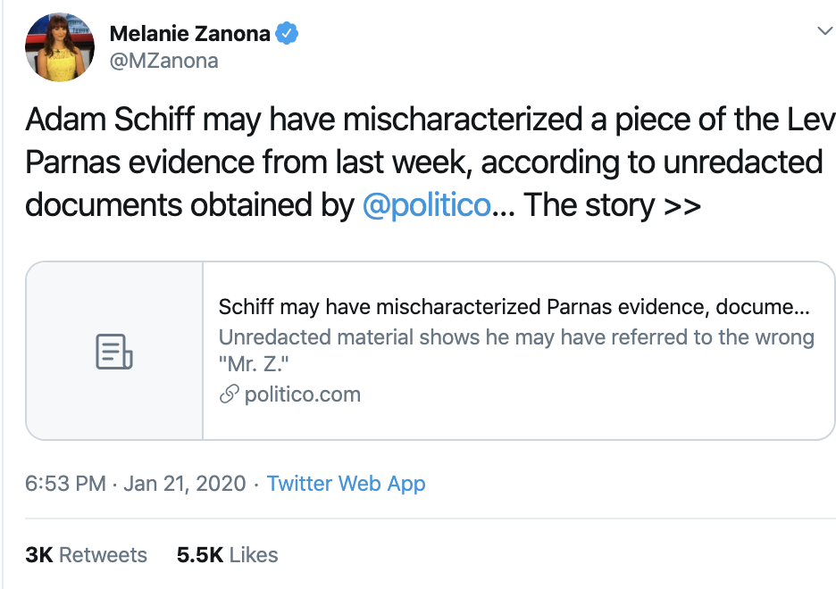 Screen-Shot-2020-01-22-at-7.23.13-AM Trump Tweets Impeachment Induced Gibberish During AM Meltdown Economy Election 2020 Featured Impeachment Top Stories