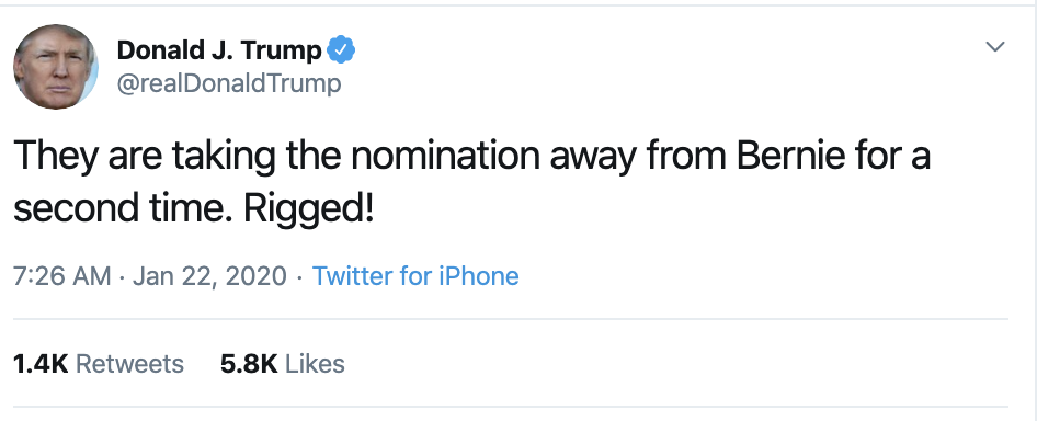 Screen-Shot-2020-01-22-at-7.31.45-AM Trump Tweets Impeachment Induced Gibberish During AM Meltdown Economy Election 2020 Featured Impeachment Top Stories