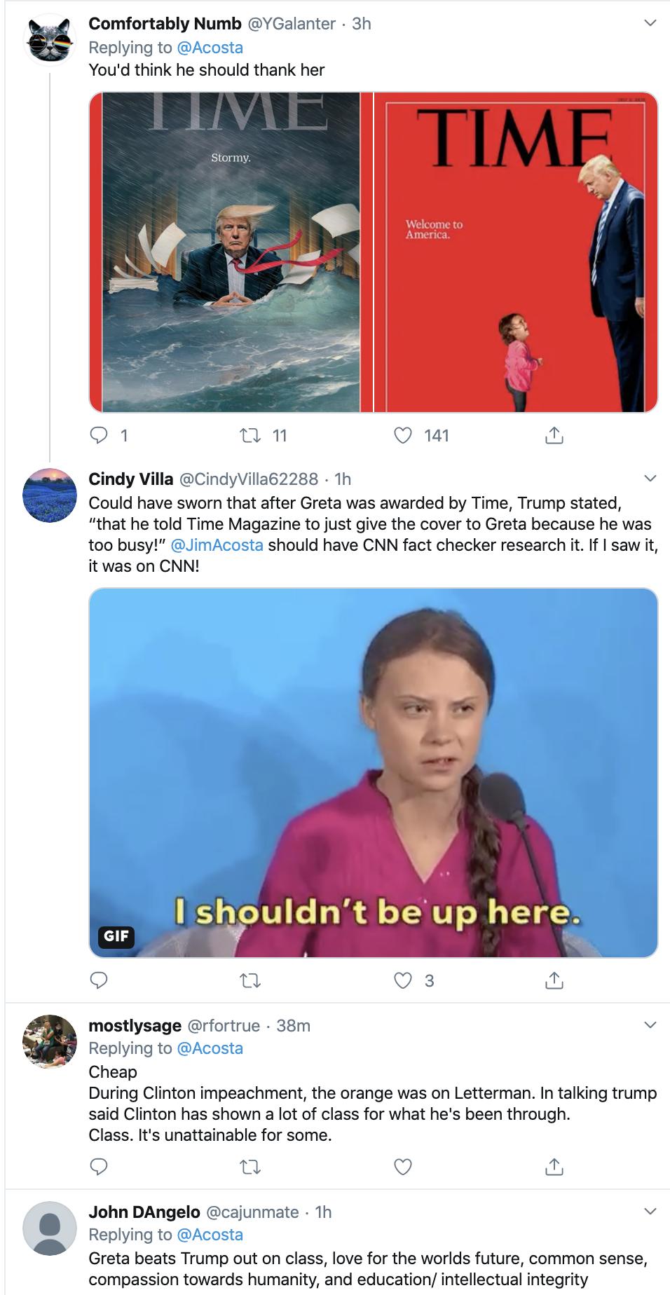 Screen-Shot-2020-01-22-at-9.29.41-AM Acosta Follows Trump In Switzerland & Publicly Trolls Him Hard Featured Impeachment Media Top Stories Twitter