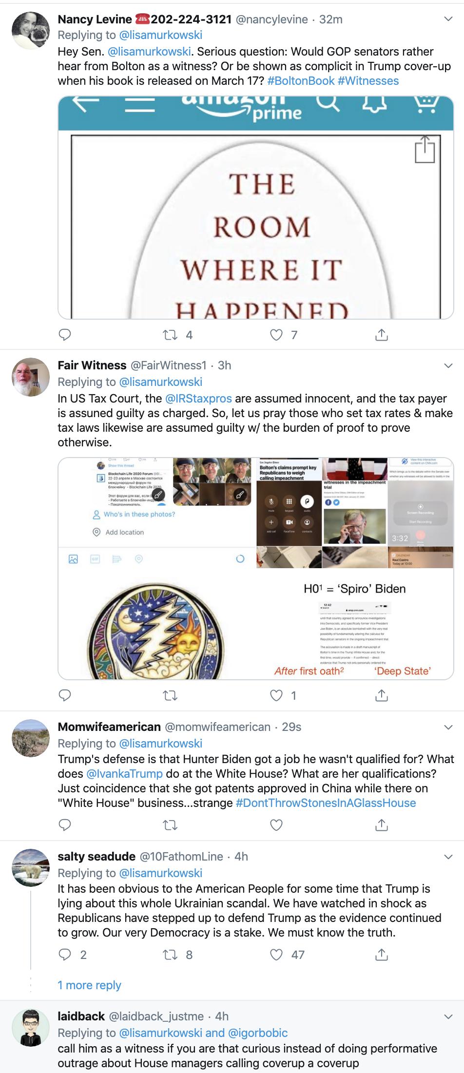 Screen-Shot-2020-01-27-at-4.22.57-PM Trump Livid After Murkowski Responds To Bolton Disclosure Corruption Featured Impeachment Politics Top Stories