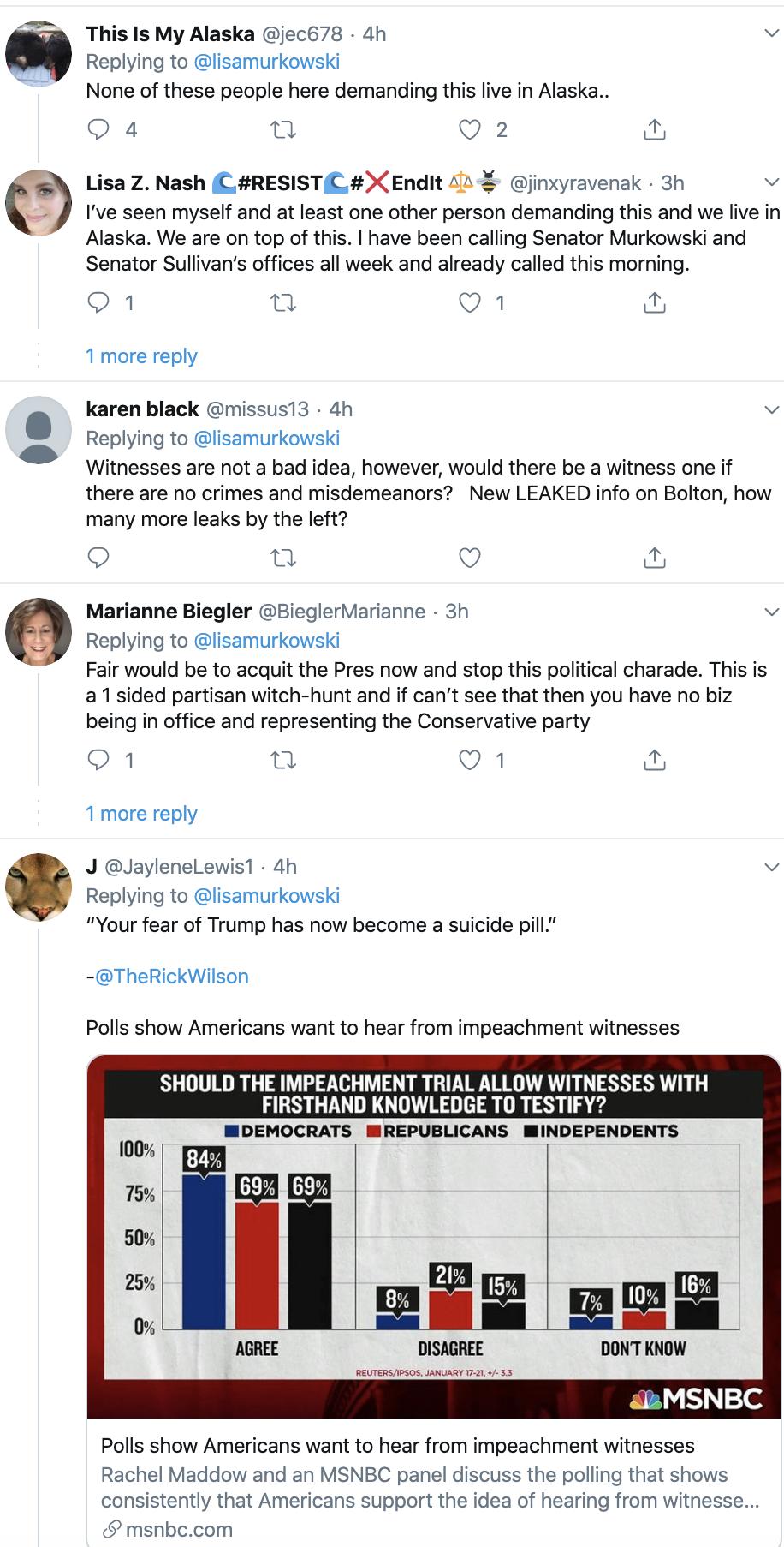 Screen-Shot-2020-01-27-at-4.23.49-PM Trump Livid After Murkowski Responds To Bolton Disclosure Corruption Featured Impeachment Politics Top Stories