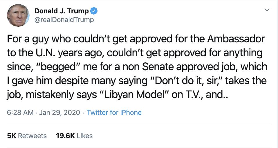 Screen-Shot-2020-01-29-at-7.19.19-AM Trump Rages Online About Historic Impeachment Corruption Featured Impeachment Politics Top Stories