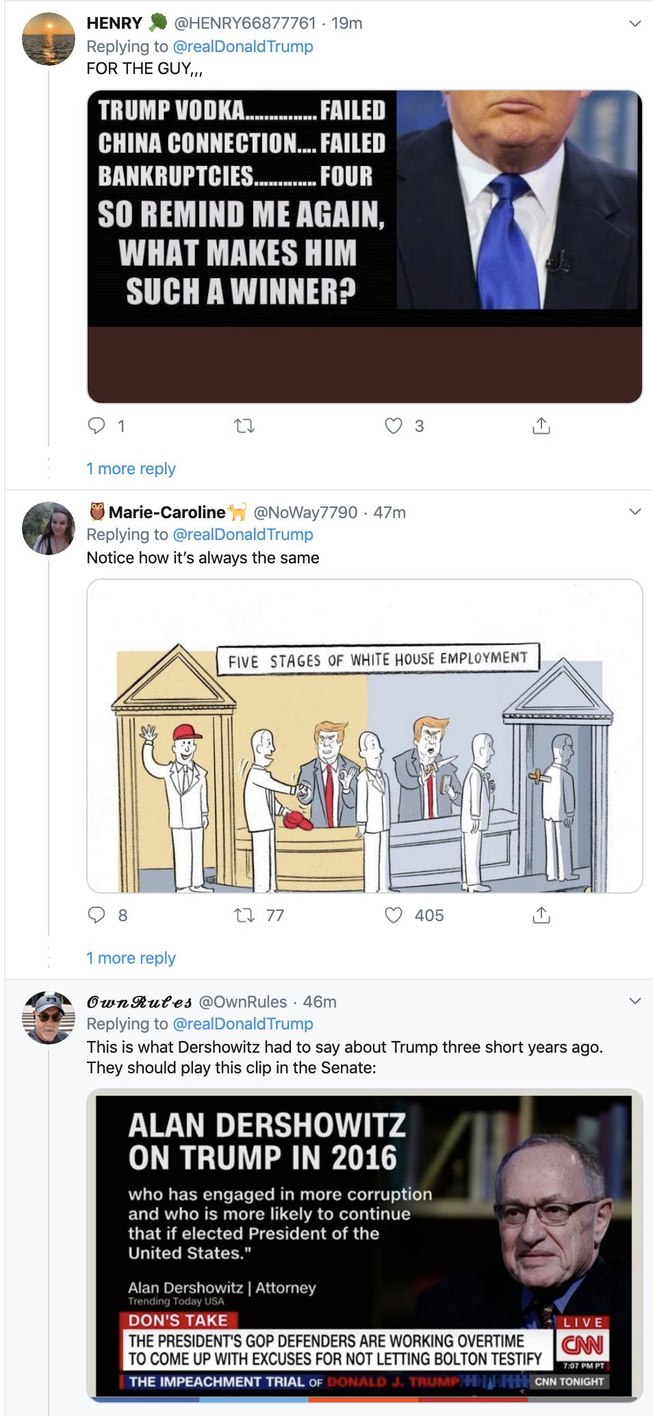 Screen-Shot-2020-01-29-at-7.20.42-AM Trump Rages Online About Historic Impeachment Corruption Featured Impeachment Politics Top Stories