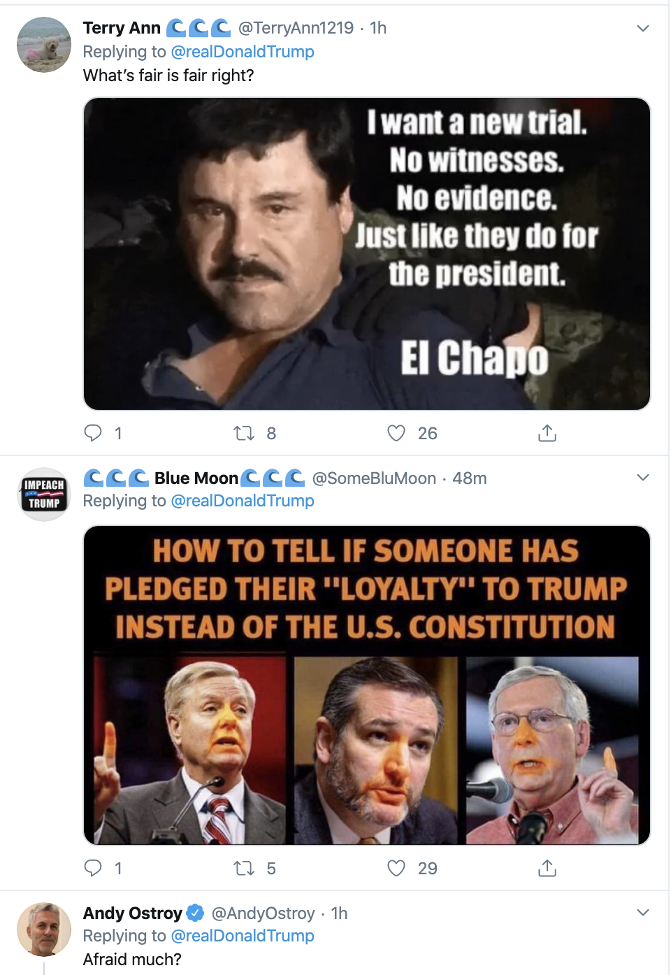 Screen-Shot-2020-01-29-at-8.21.10-AM Trump Just Attacked Witness John Bolton On Twitter Corruption Crime Featured Impeachment Top Stories
