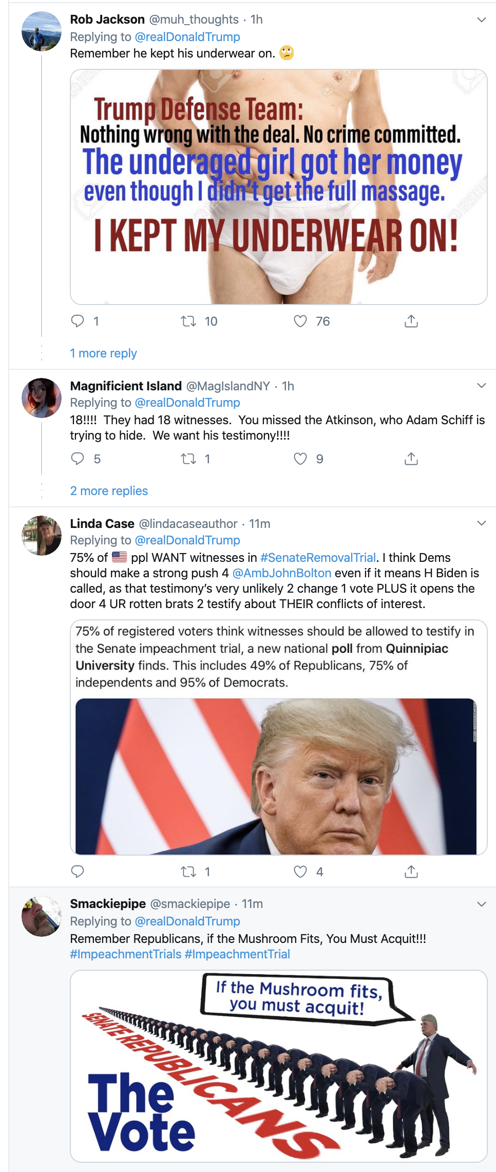 Screen-Shot-2020-01-29-at-8.21.47-AM Trump Just Attacked Witness John Bolton On Twitter Corruption Crime Featured Impeachment Top Stories