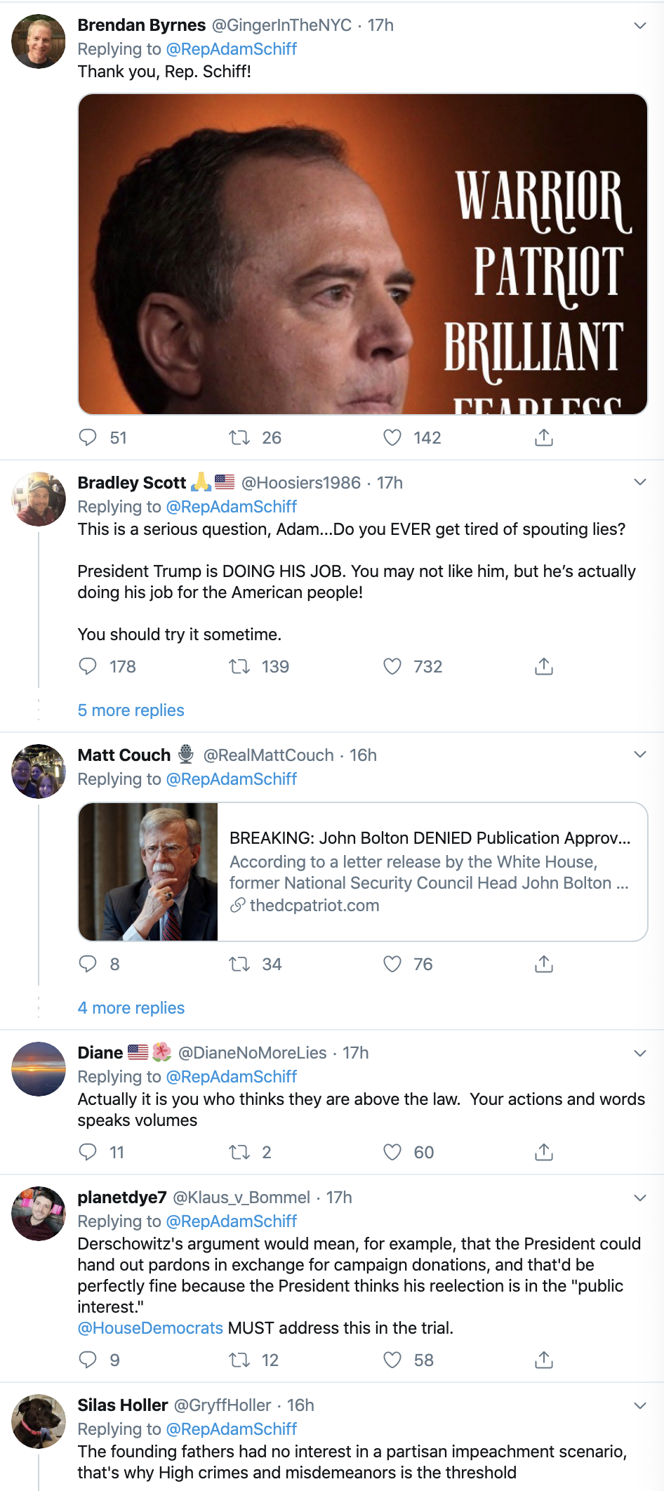 Screen-Shot-2020-01-30-at-8.04.40-AM Schiff Destroys Trump's Lawyer With Multi-Tweet Evidence Declaration Corruption Featured Impeachment Politics Top Stories