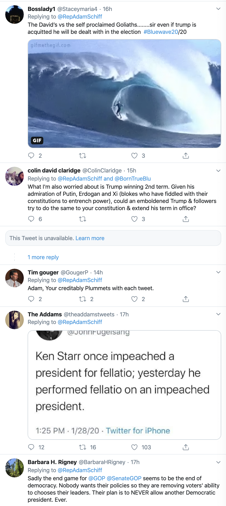 Screen-Shot-2020-01-30-at-8.05.04-AM Schiff Destroys Trump's Lawyer With Multi-Tweet Evidence Declaration Corruption Featured Impeachment Politics Top Stories