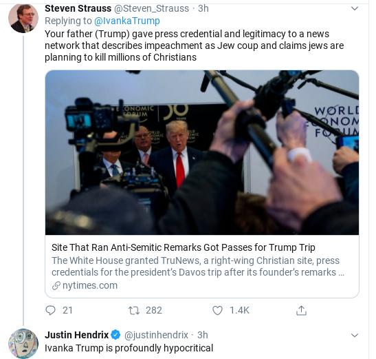 Screenshot-2020-01-28-at-10.42.04-AM Ivanka Attracts Steep Mockery After Self-Righteous Tirade Donald Trump Politics Social Media Top Stories