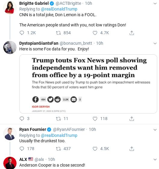 Screenshot-2020-01-28-at-11.15.24-AM Trump Has Belligerent Racist Freakout Against CNN Reporter Donald Trump Politics Social Media Top Stories