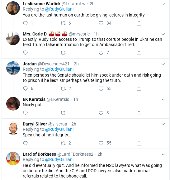 Screenshot-2020-01-31-at-5.23.33-PM Giuliani Has White Hot Twitter Meltdown Over New Bolton Leaks Donald Trump Impeachment Politics Social Media Top Stories