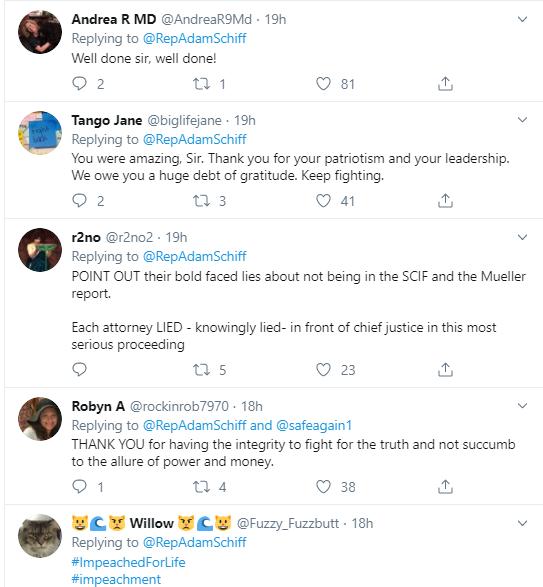 adam16 Schiff Embarrasses Trump With Multi-Tweet Impeachment Evidence Trolling Donald Trump Impeachment Politics Social Media Top Stories