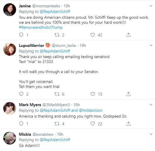 adam20-1 Schiff Embarrasses Trump With Multi-Tweet Impeachment Evidence Trolling Donald Trump Impeachment Politics Social Media Top Stories