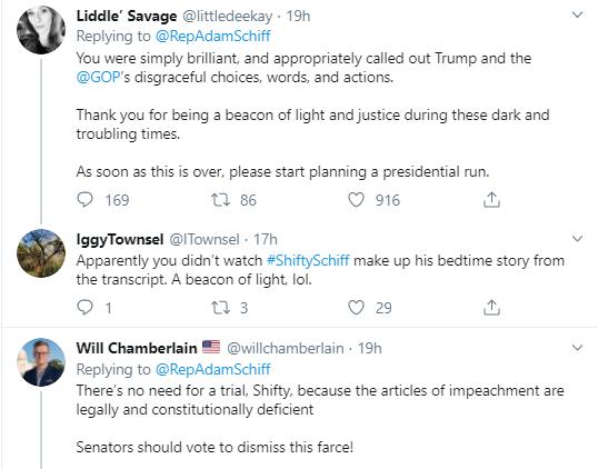 adam3-1 Schiff Embarrasses Trump With Multi-Tweet Impeachment Evidence Trolling Donald Trump Impeachment Politics Social Media Top Stories