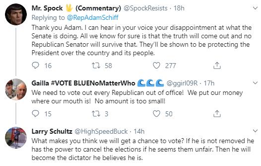 adam6 Schiff Embarrasses Trump With Multi-Tweet Impeachment Evidence Trolling Donald Trump Impeachment Politics Social Media Top Stories