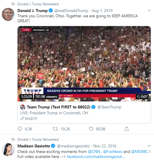 fri4 Trump Has Angry Morning Twitter Freakout About 2020 Elections Donald Trump Politics Social Media Top Stories
