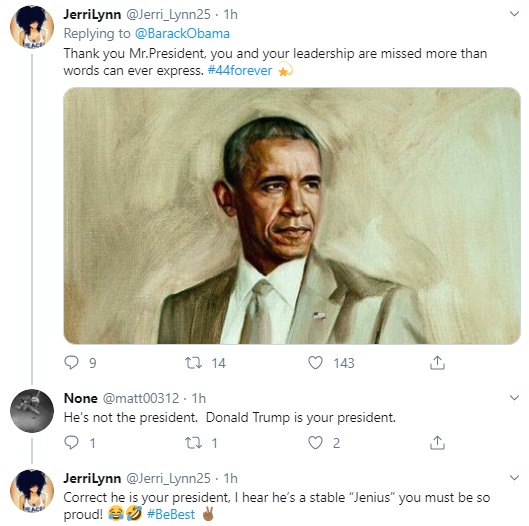 obama5-1 Obama Tweets MLK Day Message Like A True President Donald Trump Politics Social Media Top Stories