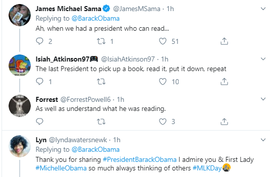obama9 Obama Tweets MLK Day Message Like A True President Donald Trump Politics Social Media Top Stories