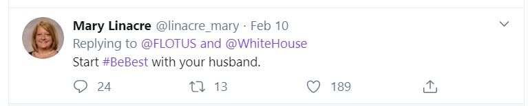 Flotus1 Melania Just Made A Fool Of Herself In Front Of The Nation Donald Trump Featured Top Stories Twitter