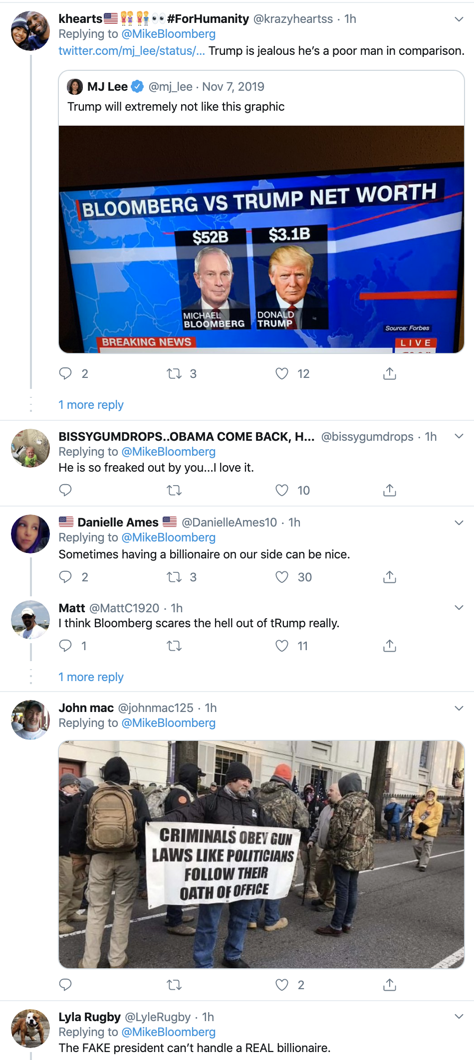 Screen-Shot-2020-02-02-at-10.31.13-AM Bloomberg Responds To Trump's Twitter Tantrum Like A Boss Election 2020 Featured Politics Top Stories