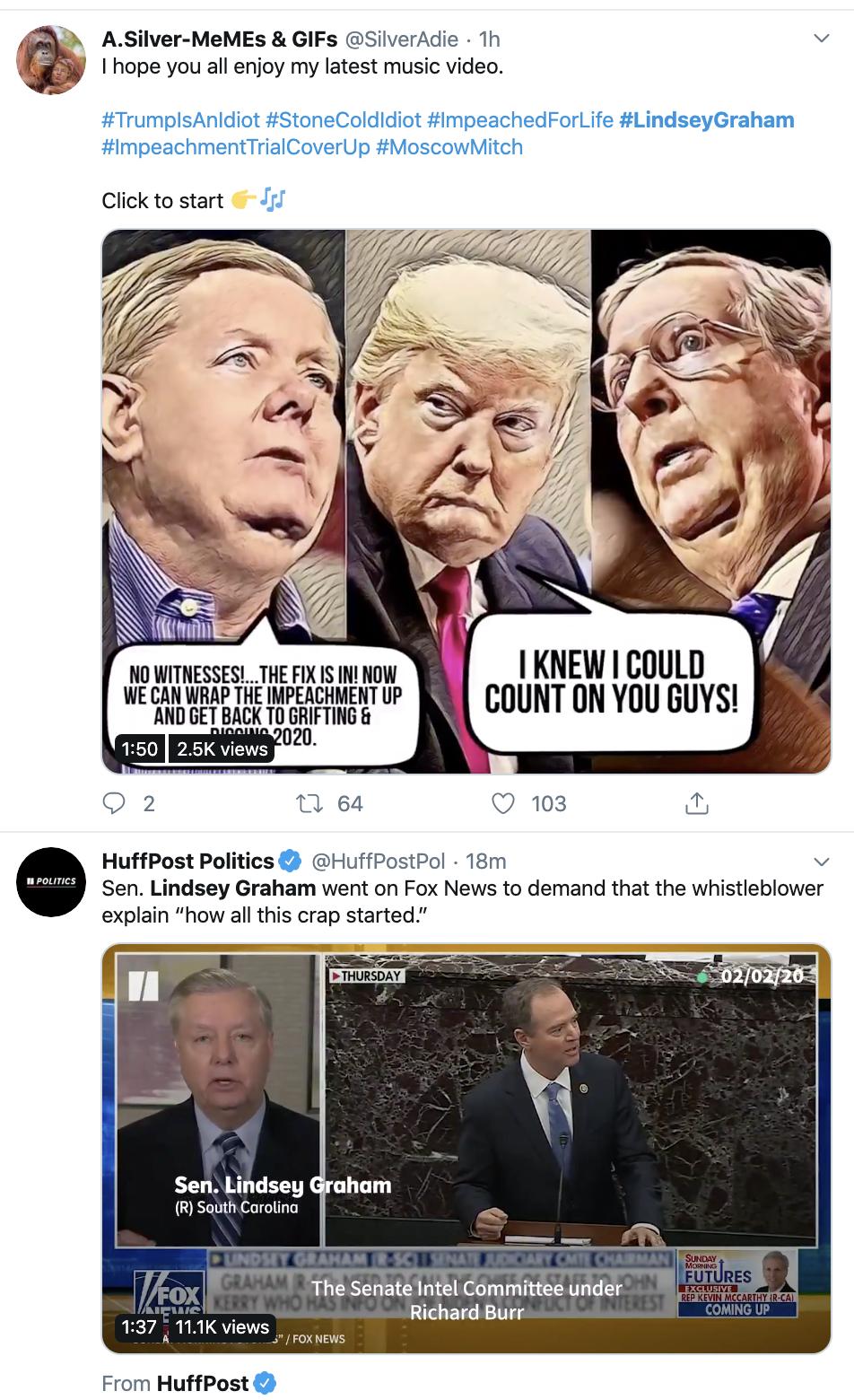 Screen-Shot-2020-02-03-at-9.03.27-AM Graham Just Threatened The Trump Whistleblower Crime Fact-Checker Politics Top Stories