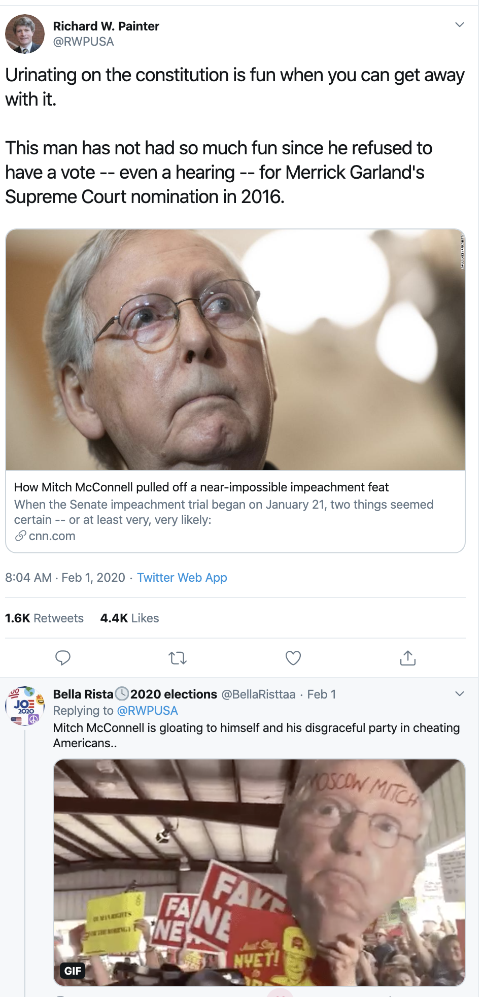 Screen-Shot-2020-02-04-at-10.46.37-AM McConnell Flips Out On Dems Tuesday Morning Corruption Donald Trump Featured Politics Top Stories