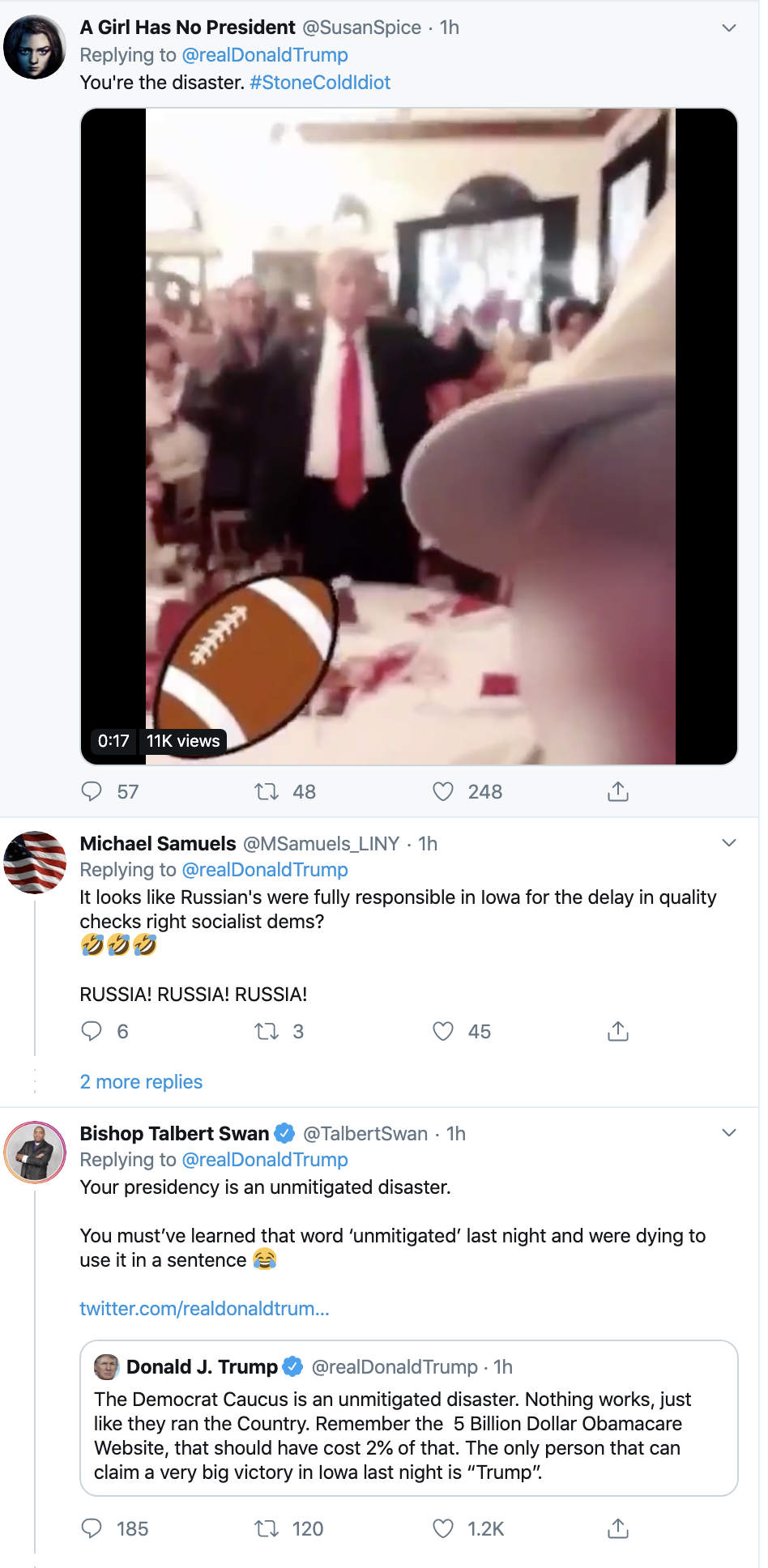 Screen-Shot-2020-02-04-at-7.16.36-AM Scared Trump Rage-Tweets About Iowa Caucus Results Donald Trump Election 2020 Featured Politics Top Stories