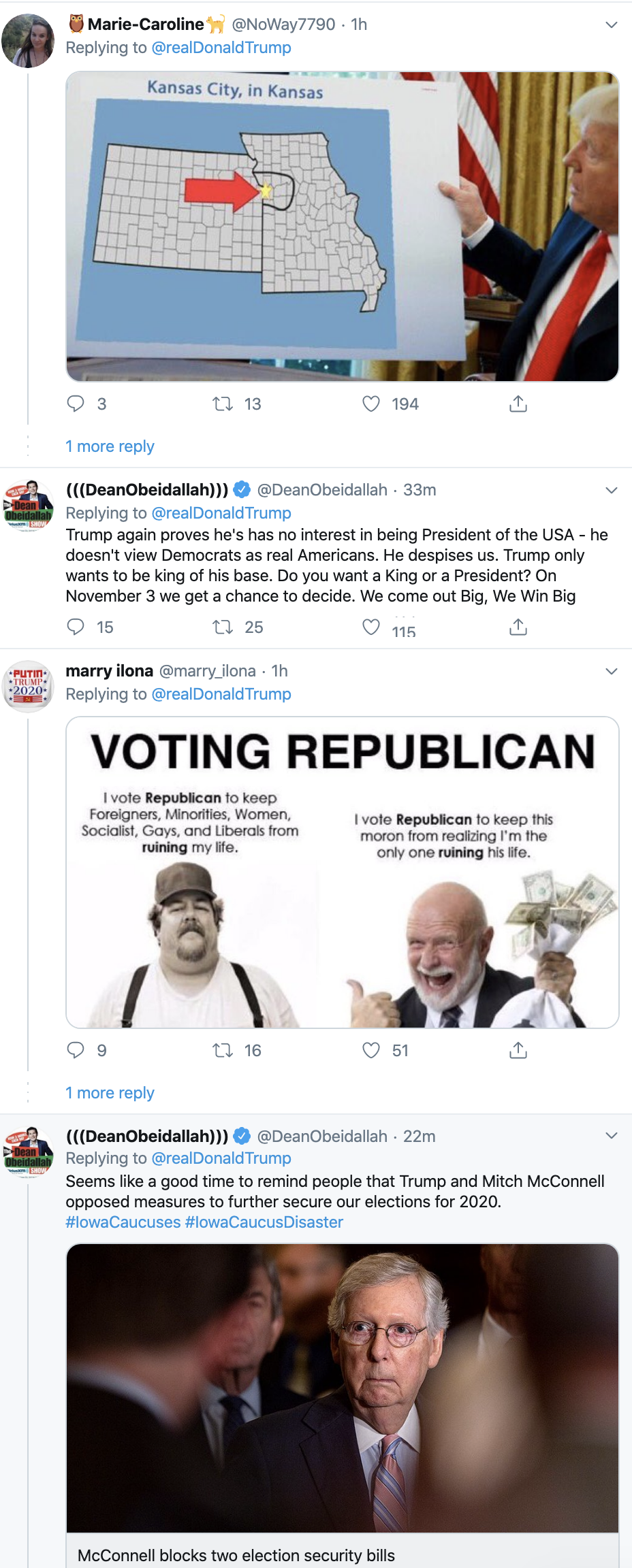 Screen-Shot-2020-02-04-at-7.17.38-AM Scared Trump Rage-Tweets About Iowa Caucus Results Donald Trump Election 2020 Featured Politics Top Stories