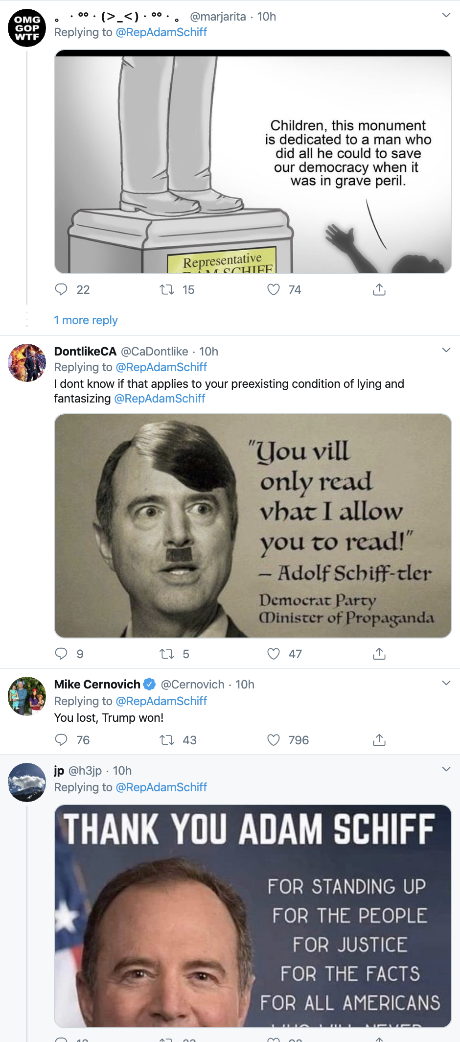 Screen-Shot-2020-02-05-at-9.01.12-AM Schiff Upstages Trump During SOTU With Snarky Twitter Trolling Featured Impeachment Politics Top Stories Twitter