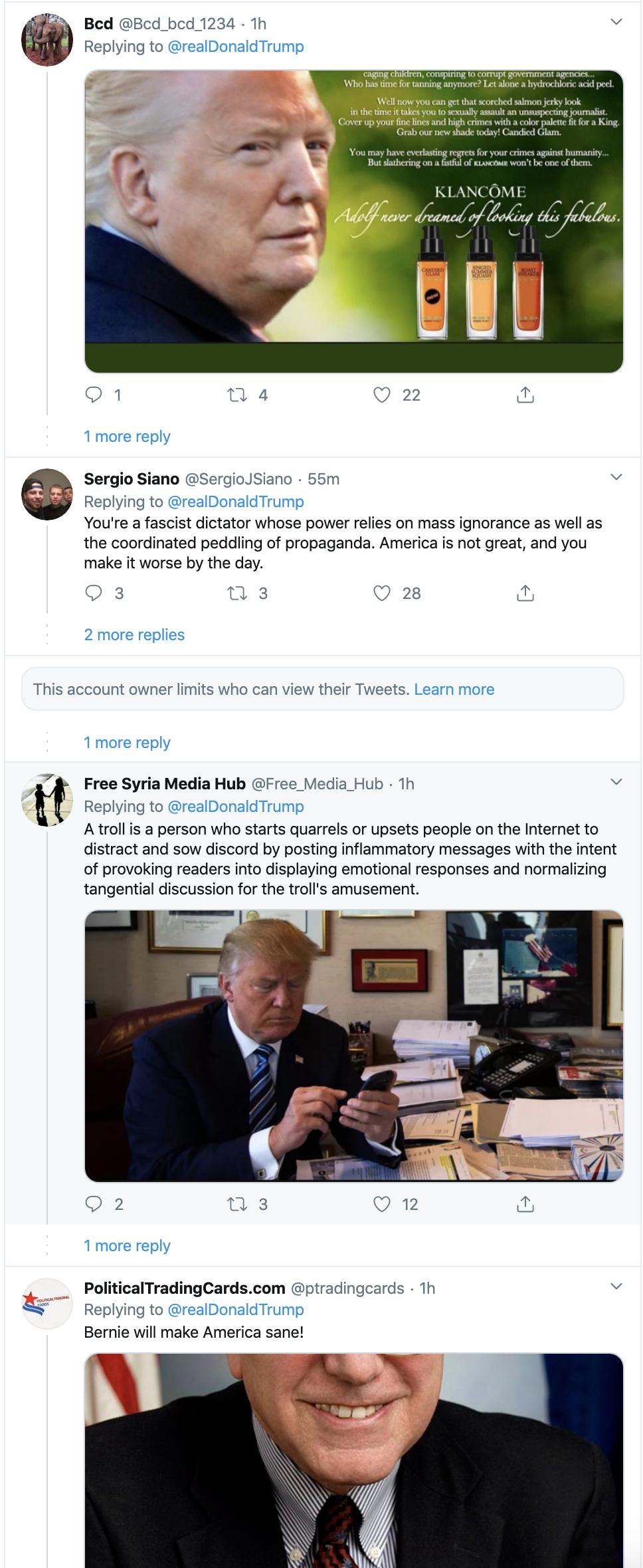 Screen-Shot-2020-02-09-at-2.14.15-PM Trump Snaps & Flies Into Paranoid Sunday Conniption Fit Corruption Donald Trump Featured Politics Top Stories
