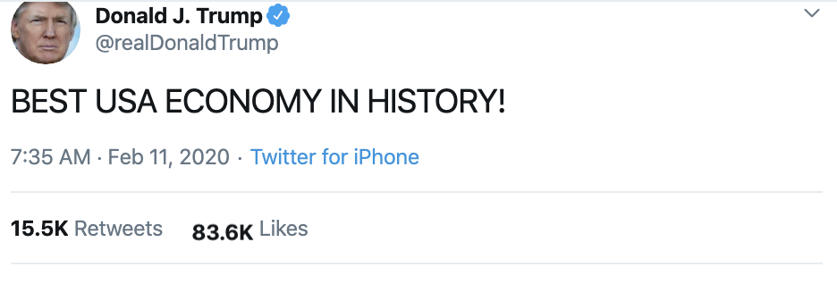 Screen-Shot-2020-02-11-at-9.36.41-AM Trump Wigs Out On Twitter Over Roger Stone Sentencing Donald Trump Election 2020 Featured Politics Top Stories