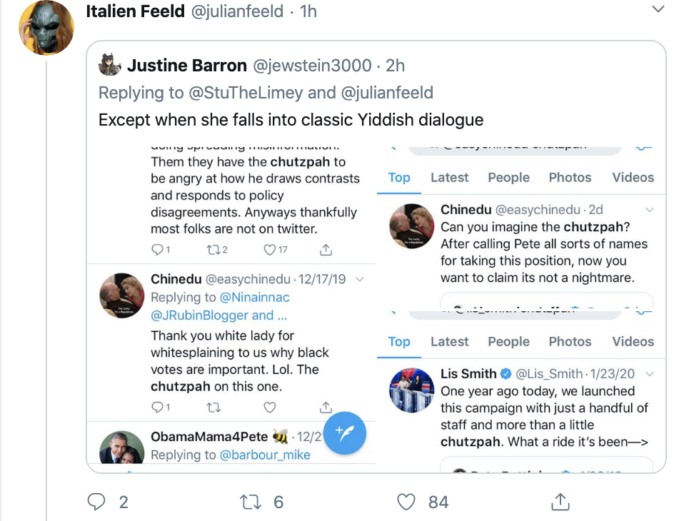 Screen-Shot-2020-02-16-at-1.44.25-PM Buttigieg Camp Accused Of Creating Fake Black Twitter Accounts Corruption Election 2020 Featured Politics Top Stories