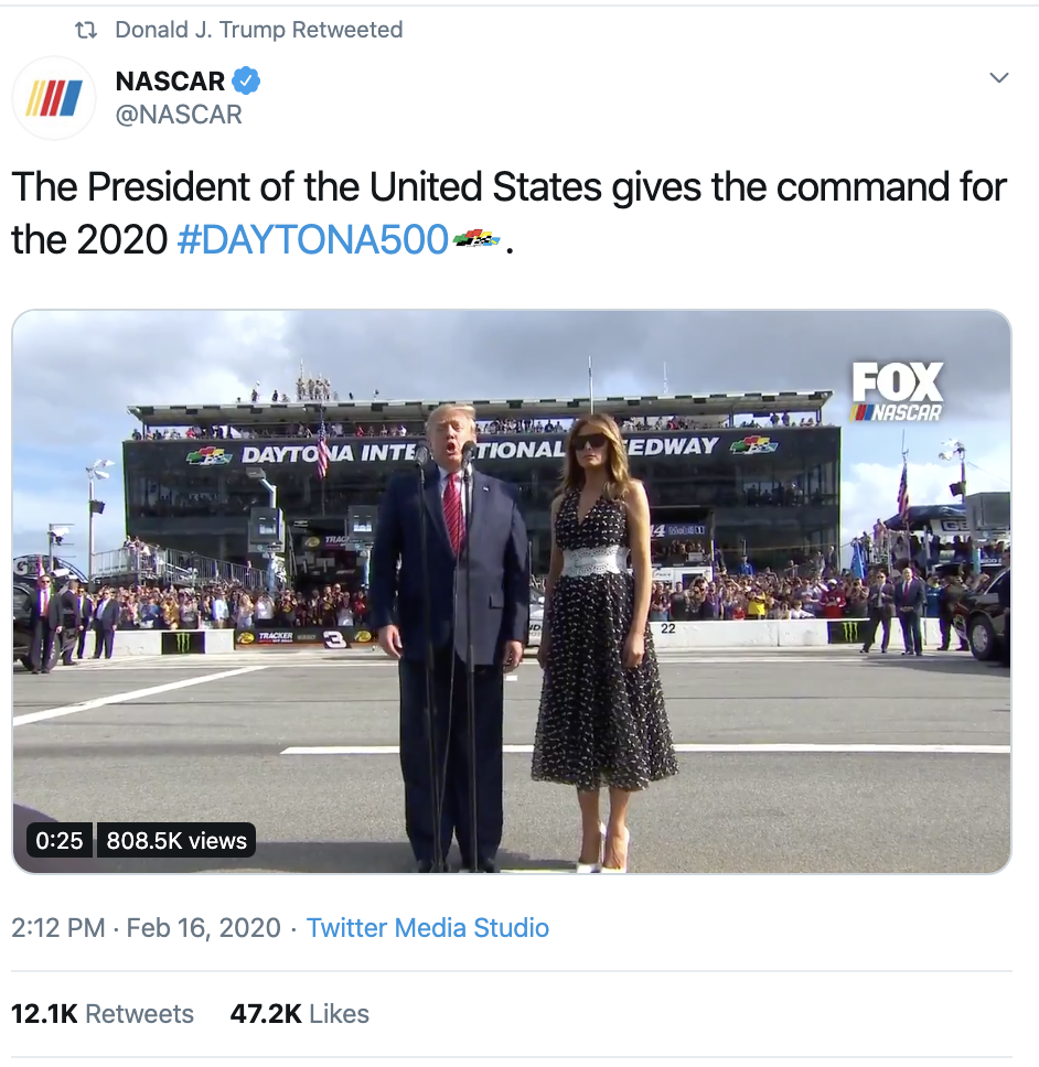 Screen-Shot-2020-02-17-at-9.34.18-AM Trump Ridiculed For Lazy President's Day Tweet Corruption Donald Trump Featured Politics Top Stories