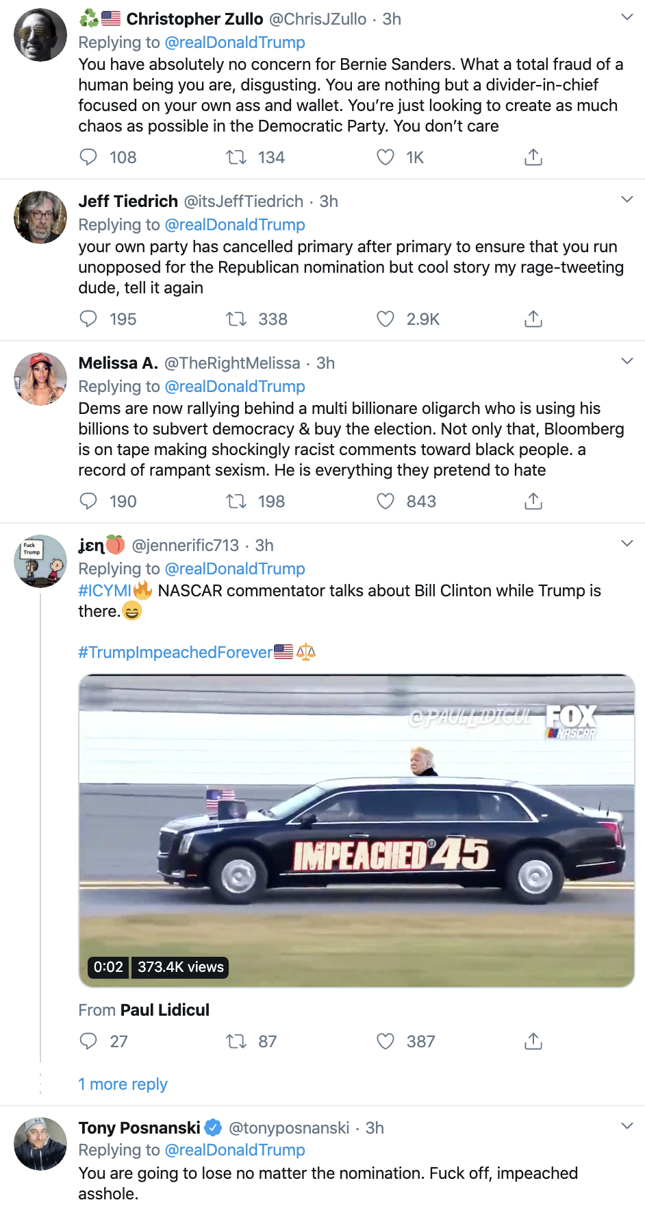 Screen-Shot-2020-02-18-at-11.54.32-AM Trump Is Going Off On Twitter Like He's Unemployed Activism Corruption Election 2020 Featured Politics Top Stories