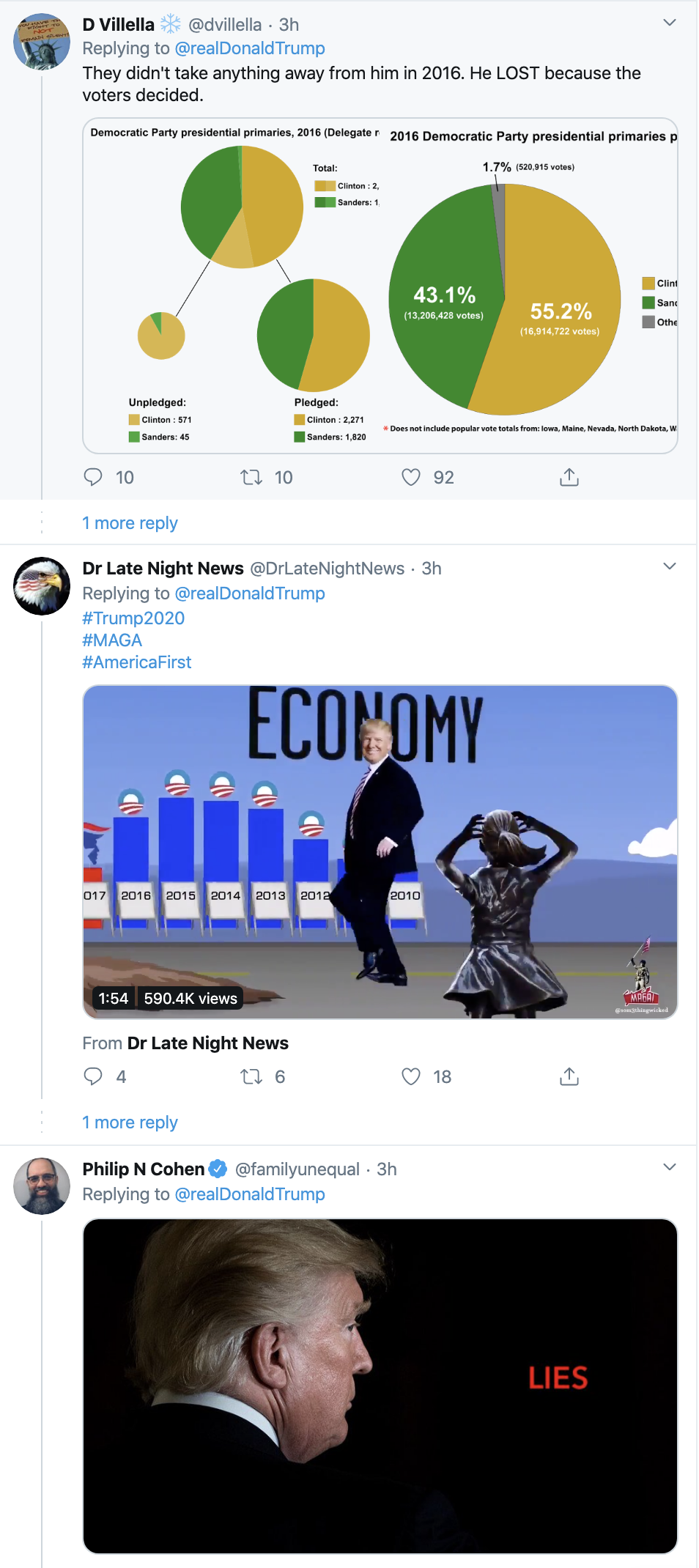 Screen-Shot-2020-02-18-at-11.55.14-AM Trump Is Going Off On Twitter Like He's Unemployed Activism Corruption Election 2020 Featured Politics Top Stories