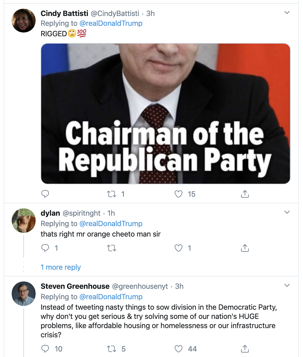 Screen-Shot-2020-02-18-at-11.56.59-AM Trump Is Going Off On Twitter Like He's Unemployed Activism Corruption Election 2020 Featured Politics Top Stories