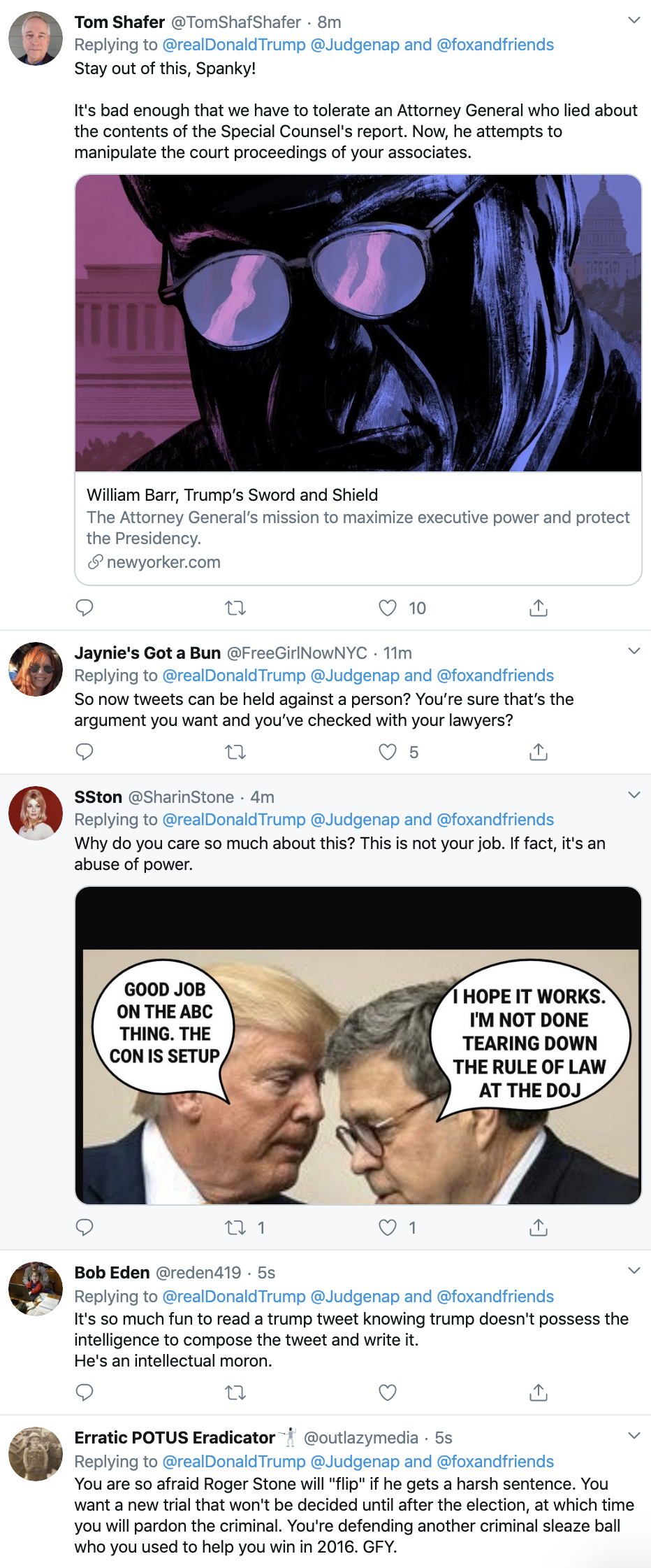 Screen-Shot-2020-02-18-at-7.13.49-AM Trump Threatens To Sue In SAD Tuesday AM Cry-Fest Corruption Election 2020 Featured Politics Top Stories